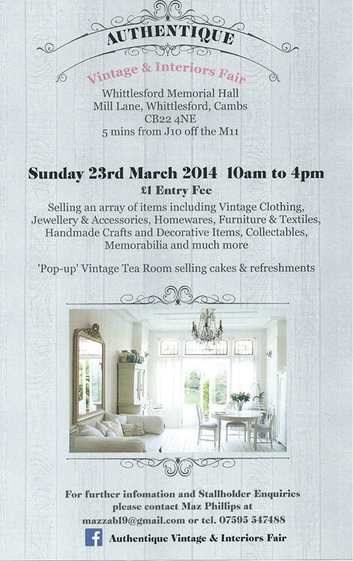 Authentique Vintage and Interiors Fair