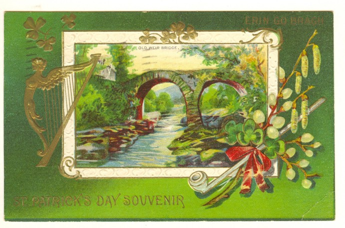 Happy St Patrick's Day VIntage Card